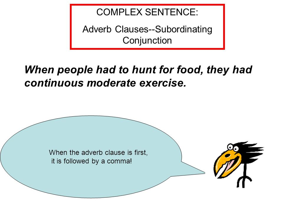 What is a coordinating conjunction ppt video online for Cuisine sentence