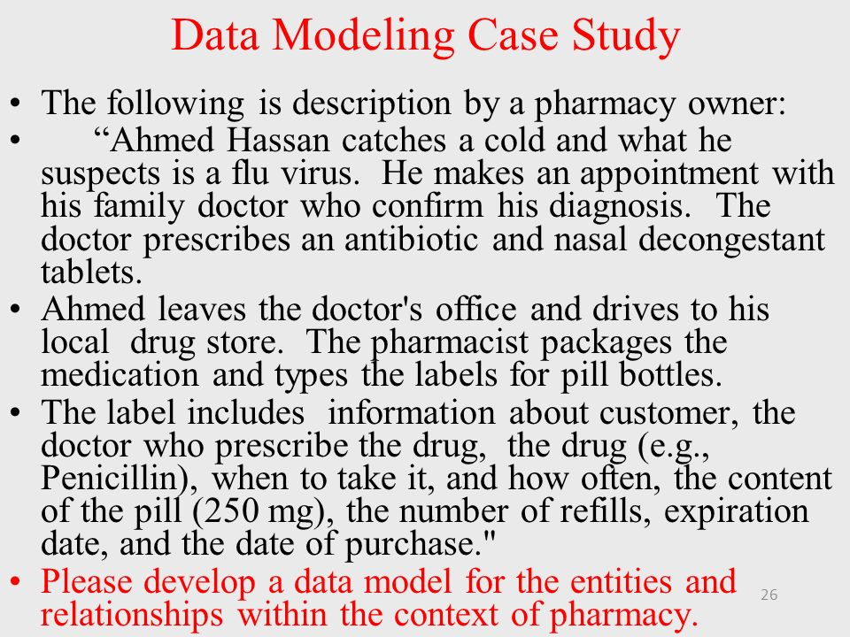 Data Model Desition Case Analysis Essay
