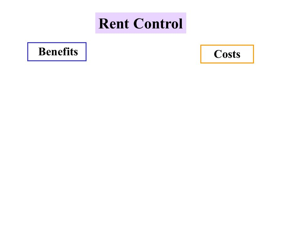 the cost of rent control Rent control seems unfair what if the supreme court kills rent control rent control seems unfair she pays $1,000 a month, at least half what an unregulated apartment in the same neighborhood would cost.