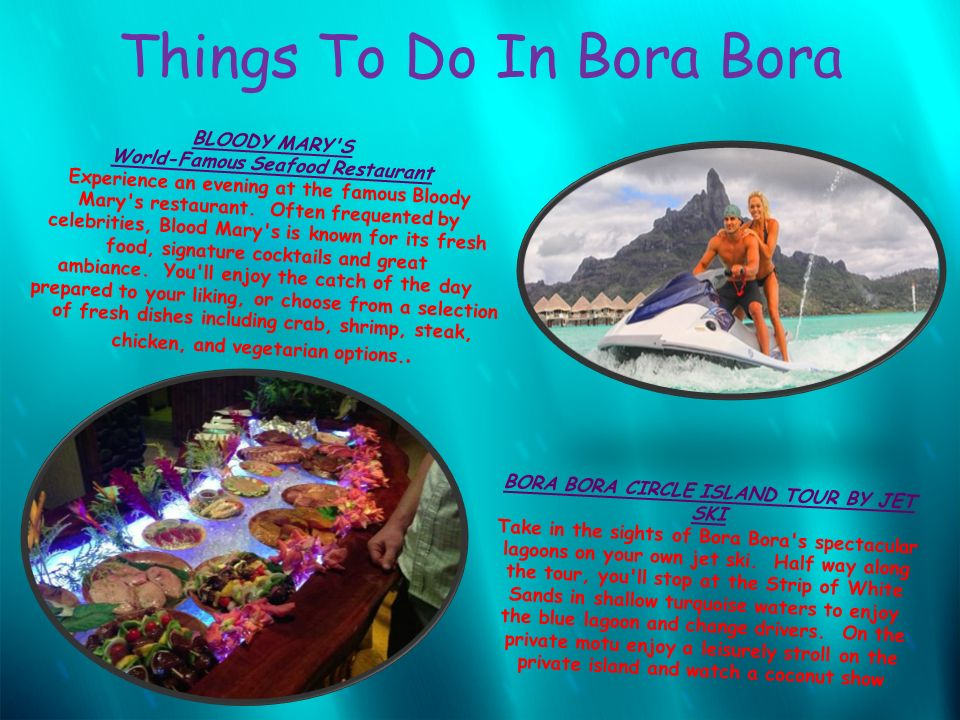 The island bora bora ppt download for What to buy in bora bora