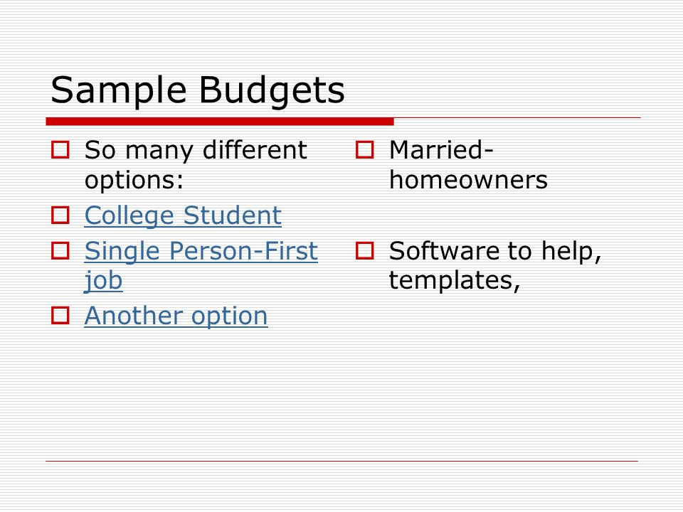 Chapter 3- Budgeting. - Ppt Download
