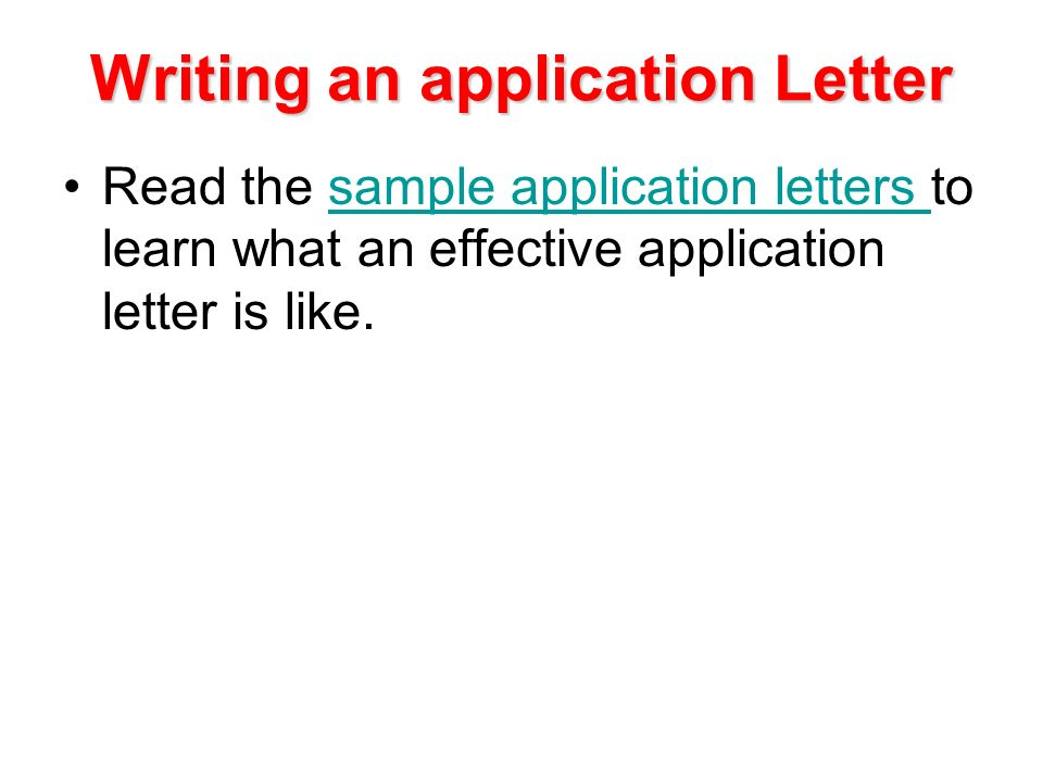 Writing a Business Letter - ppt download