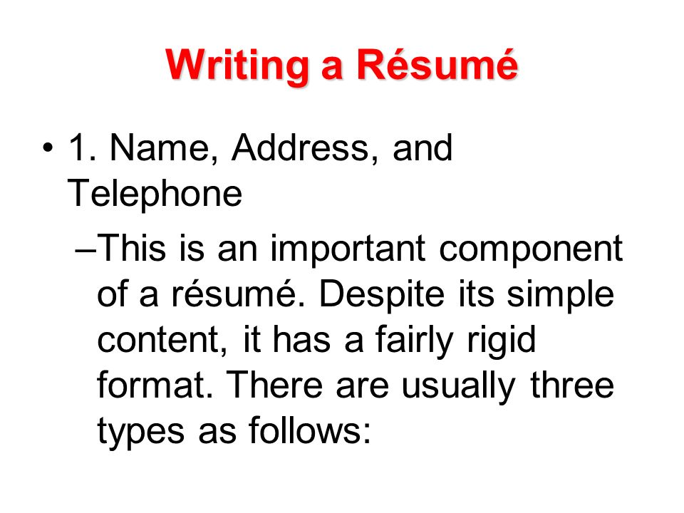writing a business letter ppt