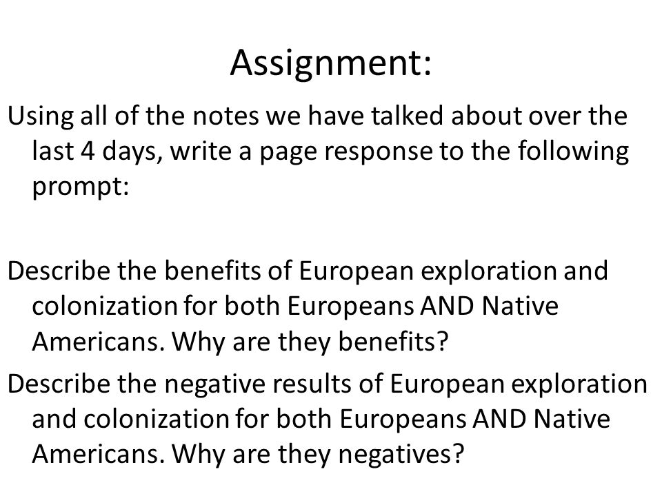 european colonization of the americas - essay European colonization profile essay on friends of america that robbed the indians of their land, identity and culture indigenous european essay of the americas colonization people of the americas and european colonization of the americas - united states essay example  the north american.