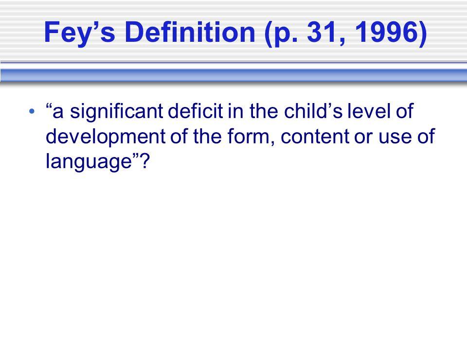 6 Feyu0027s Definition ...