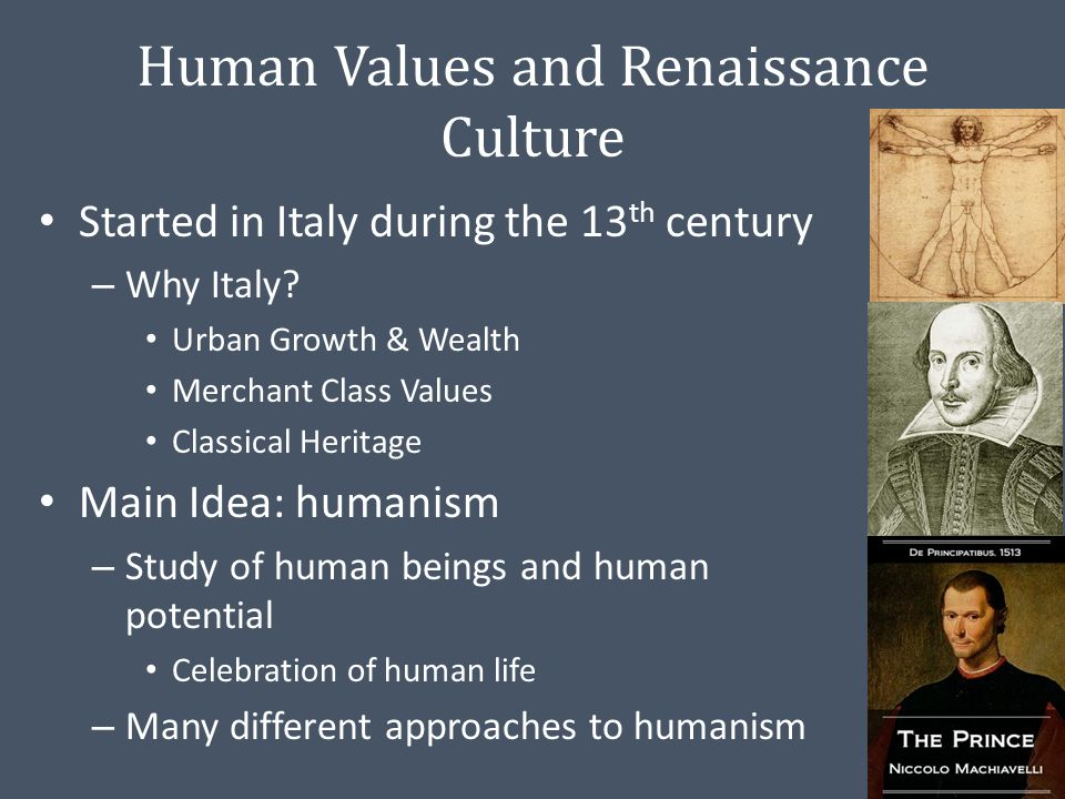 "a discussion of humanism during the renaissance period During the renaissance even going so far as to interpret the renaissance as a period of conservatism in this ""science and humanism in the renaissance."