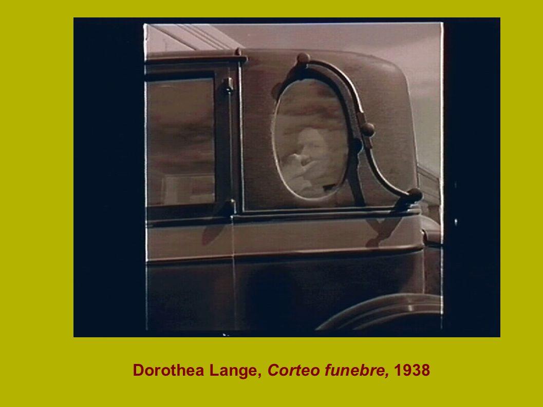 Dorothea Lange, Corteo funebre, 1938