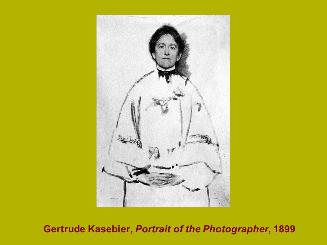 Gertrude Kasebier, Portrait of the Photographer, 1899