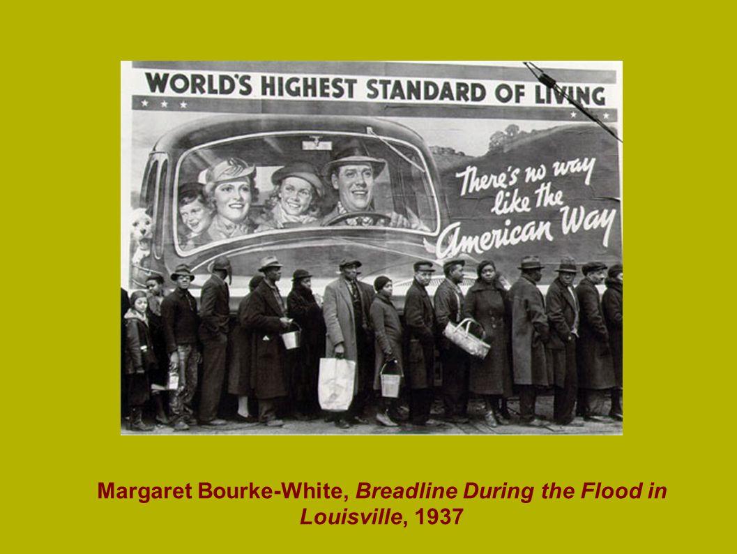 Margaret Bourke-White, Breadline During the Flood in Louisville, 1937
