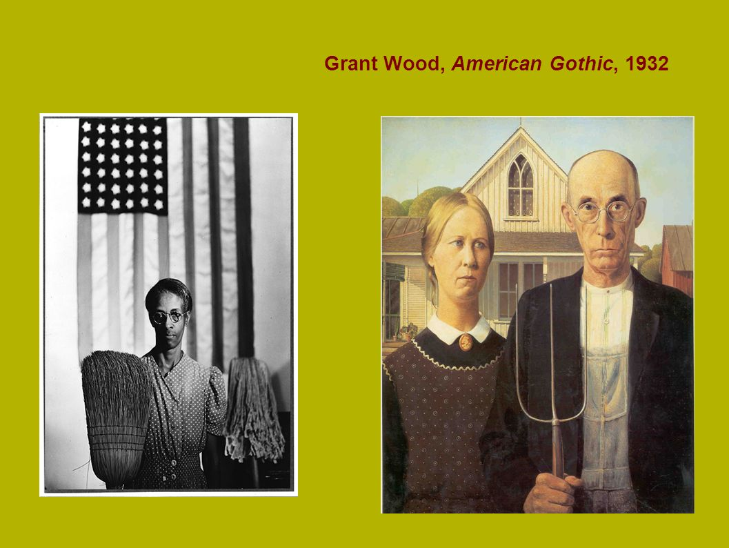 Grant Wood, American Gothic, 1932