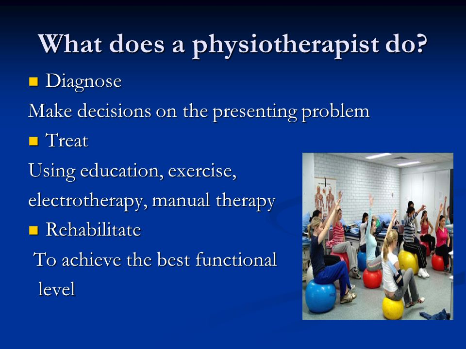 Introduction To Physiotherapy Ppt Video Online Download