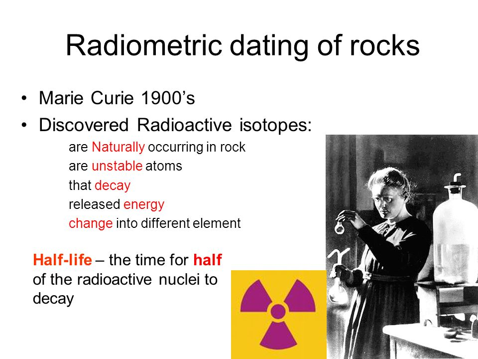 who invented radioactive dating of rocks