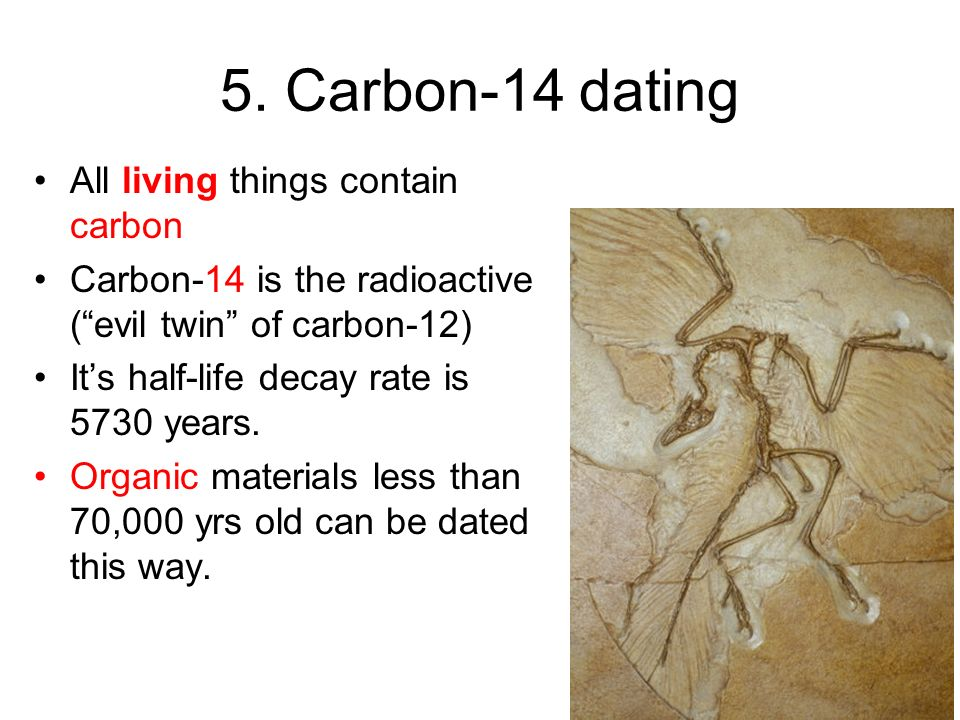 What is carbon dating wikianswers