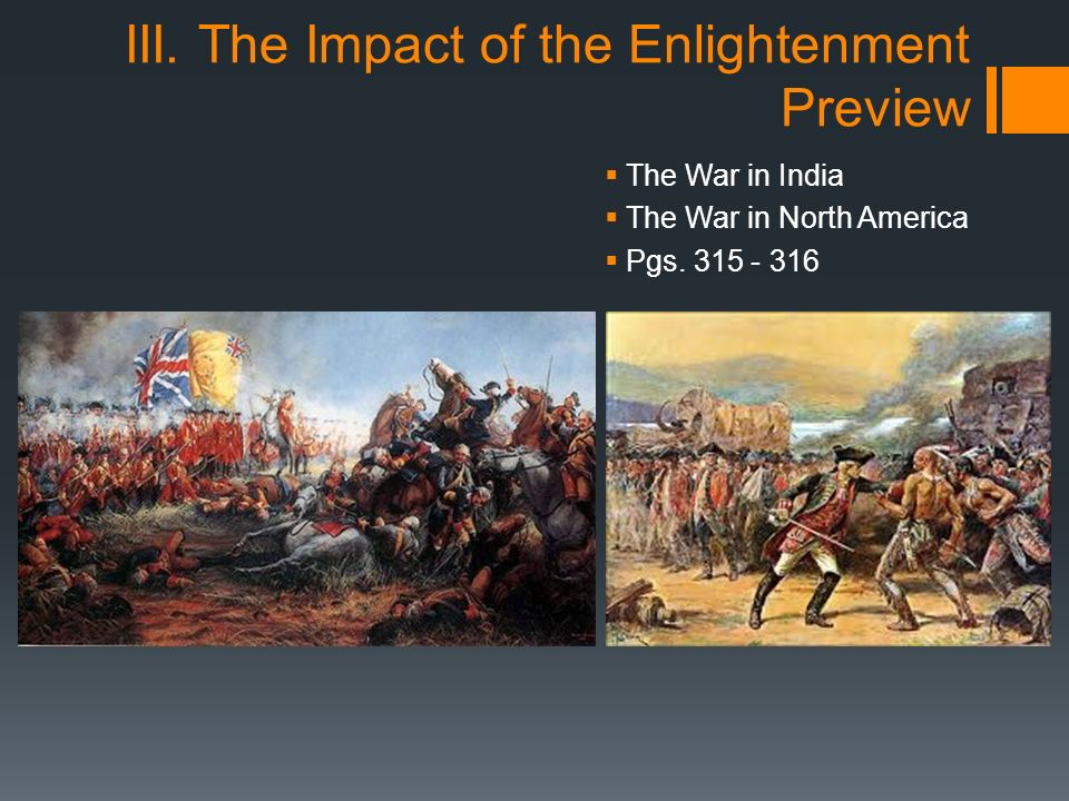 impact of enlightenment and the great While the enlightenment was shaping the minds of 18th-century colonists, another movement, the first great awakening, was shaping their hearts.
