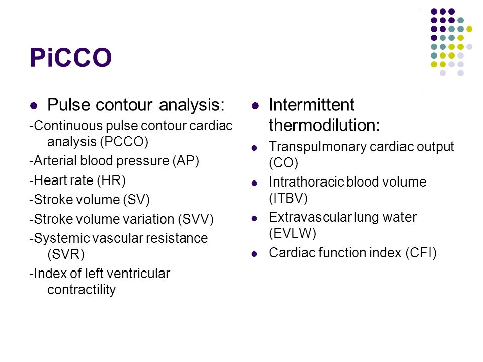 Cardiac Output Monitoring Ppt Video Online Download