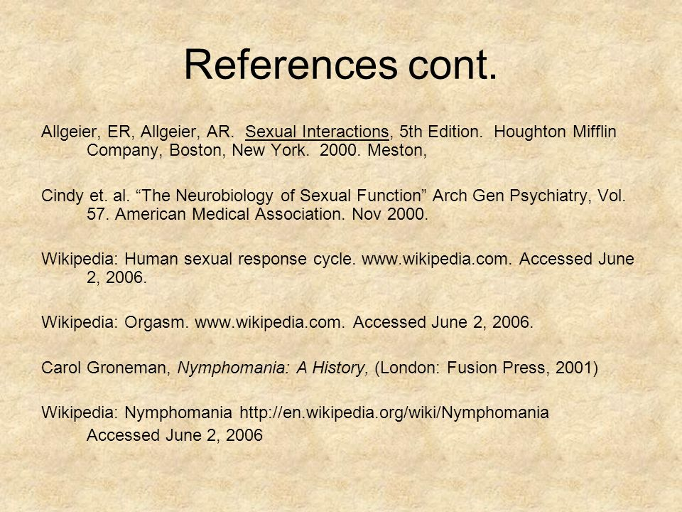 human sexual response cycle pdf