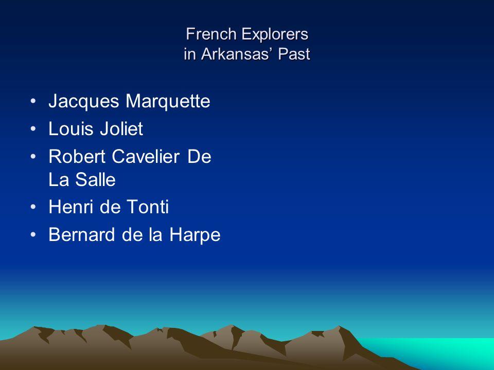 3 french explorers in arkansas past jacques marquette louis joliet