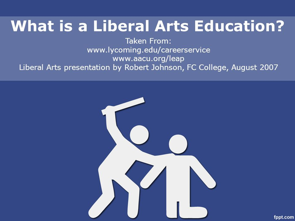 Understanding the liberal arts education model