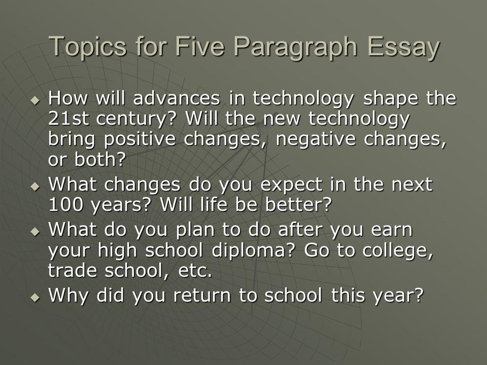 Technology in modern life essay