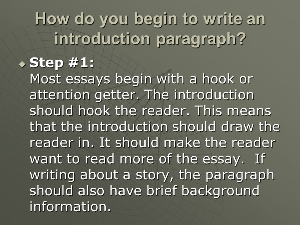 when should i write my college essays English composition 1 the proper format for essays do not type this information where the text of your essay should be title: your essay should include a title.