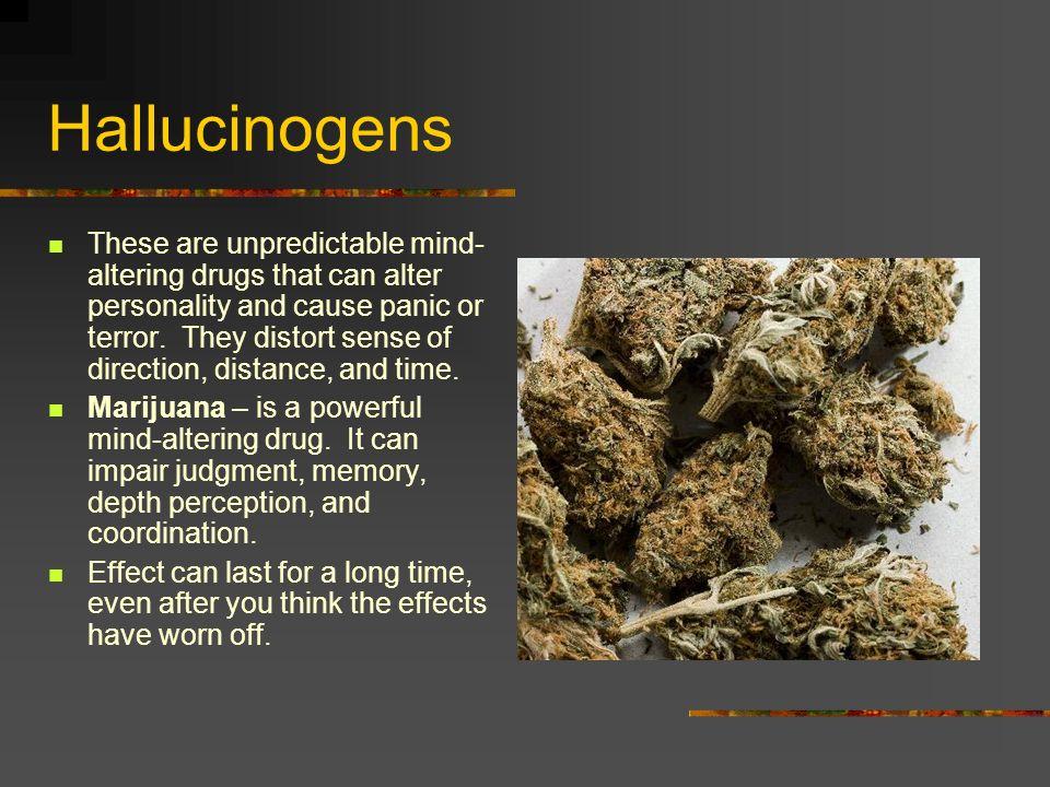 What are hallucinogens