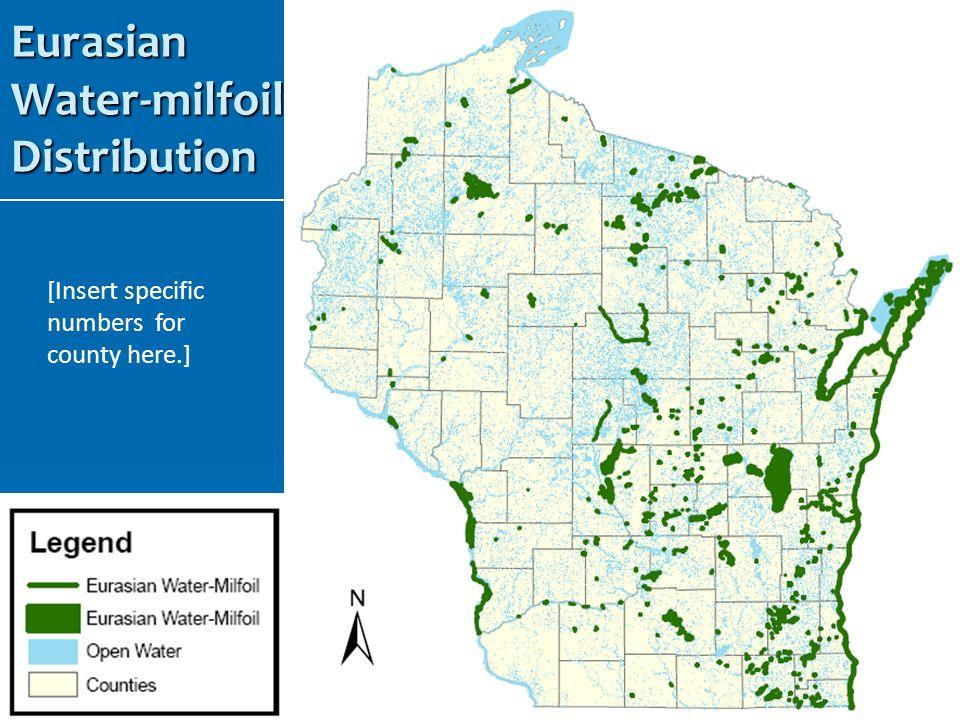 Eurasian Water-milfoil Distribution