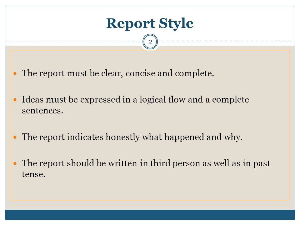 should business reports be written in third person Reports to sponsors subcontracts forms and agreements research facilities  the abstract should be written in the third person it should include objectives,.