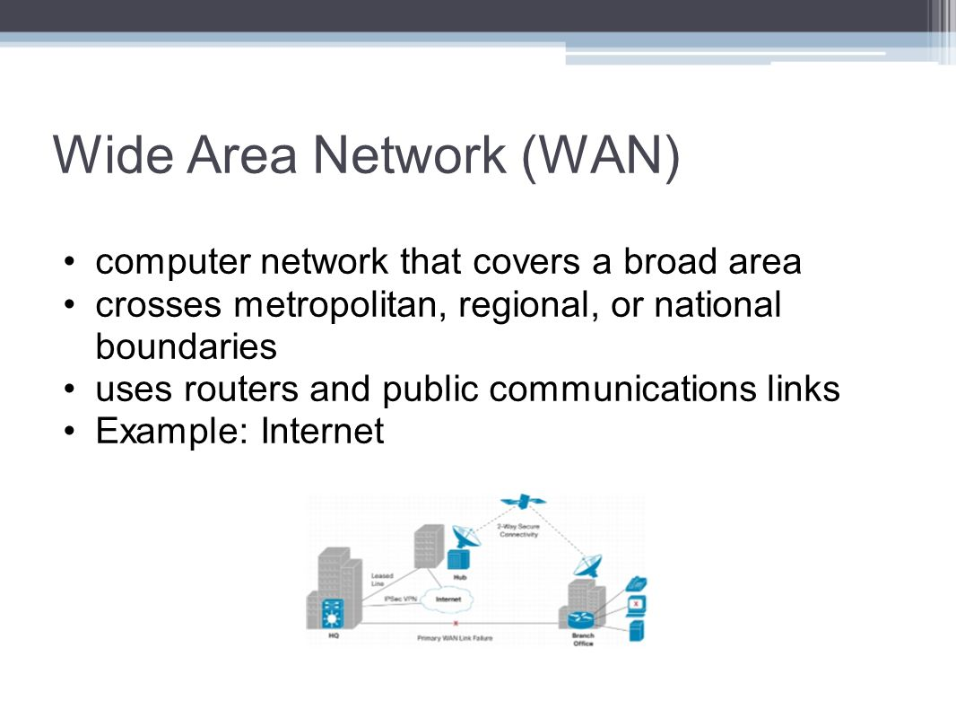 wide area networks and local area networks essay A local area network lan is a computer network within a small geographical area such as a home, school, computer laboratory, office building or group of.