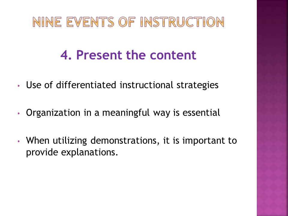 nine essential instructional strategies Innovation configuration for evidence-based reading instruction for grades k-5  this paper features an innovation configuration (ic) matrix that can guide teacher preparation  instructional strategies to address students' diverse needs (foorman & torgesen, 2001 moats &  each essential element, instructional activity, and strategy.