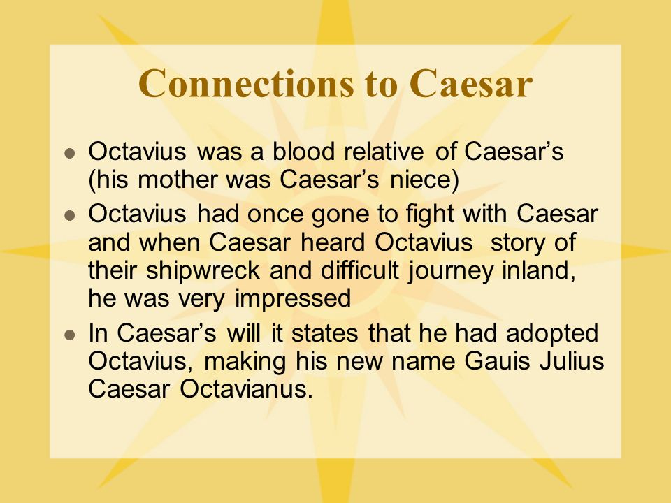 augustus caesar vs julius caesar Quizlet provides augustus' augustus caesar world activities, flashcards and games start learning today for free.