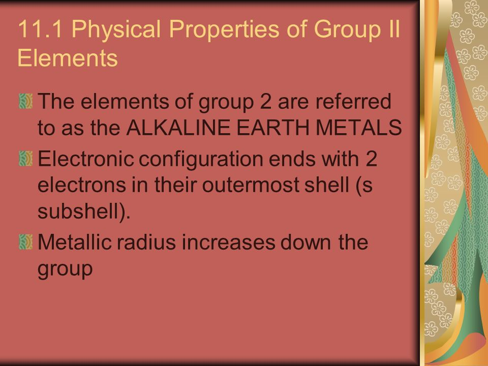 Physical Properties Of Oxygen Group