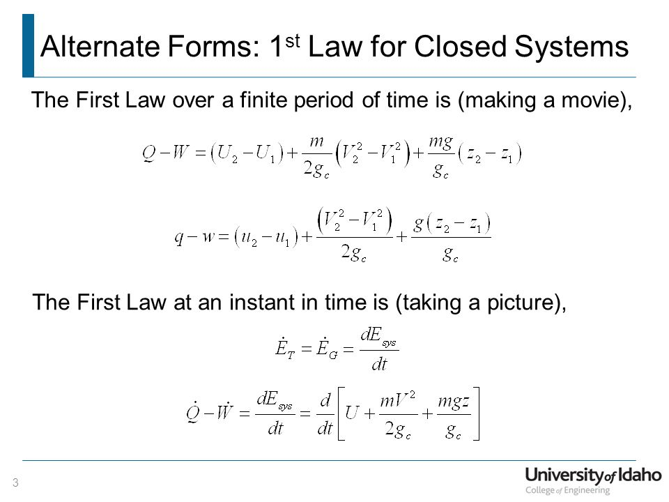 1st law of thermodynamics problems pdf