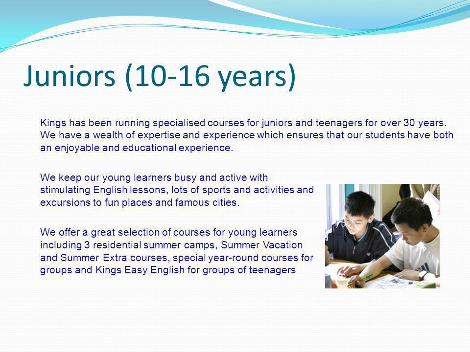 Juniors (10-16 years)