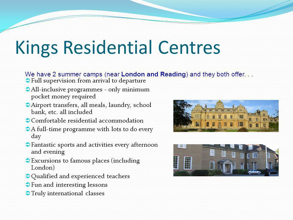 Kings Residential Centres