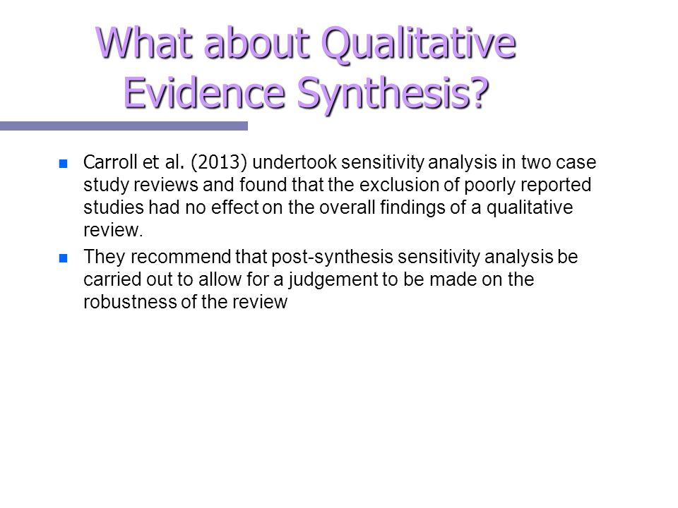 appraisal and evidence synthesis of two reviews The evidence synthesis will be undertaken in two stages: (i) a review of  rapid  evidence assessment (rea) is a comprehensive, systematic and critical.