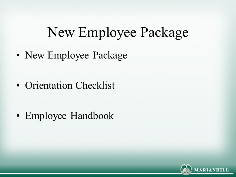 General Information For New Employees Ppt Download
