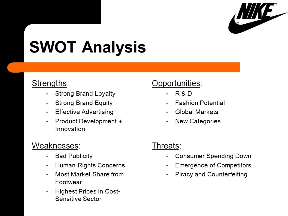 commercial strengths and weaknesses of nike Adidas group in apparel and footwear 36 pages,  strengths and weaknesses  gap between adidas and nike remains far and wide.