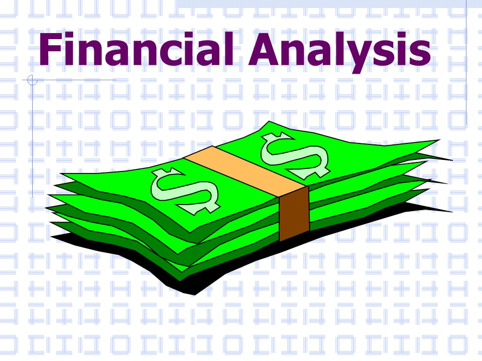 Financial Analysis  Ppt Download