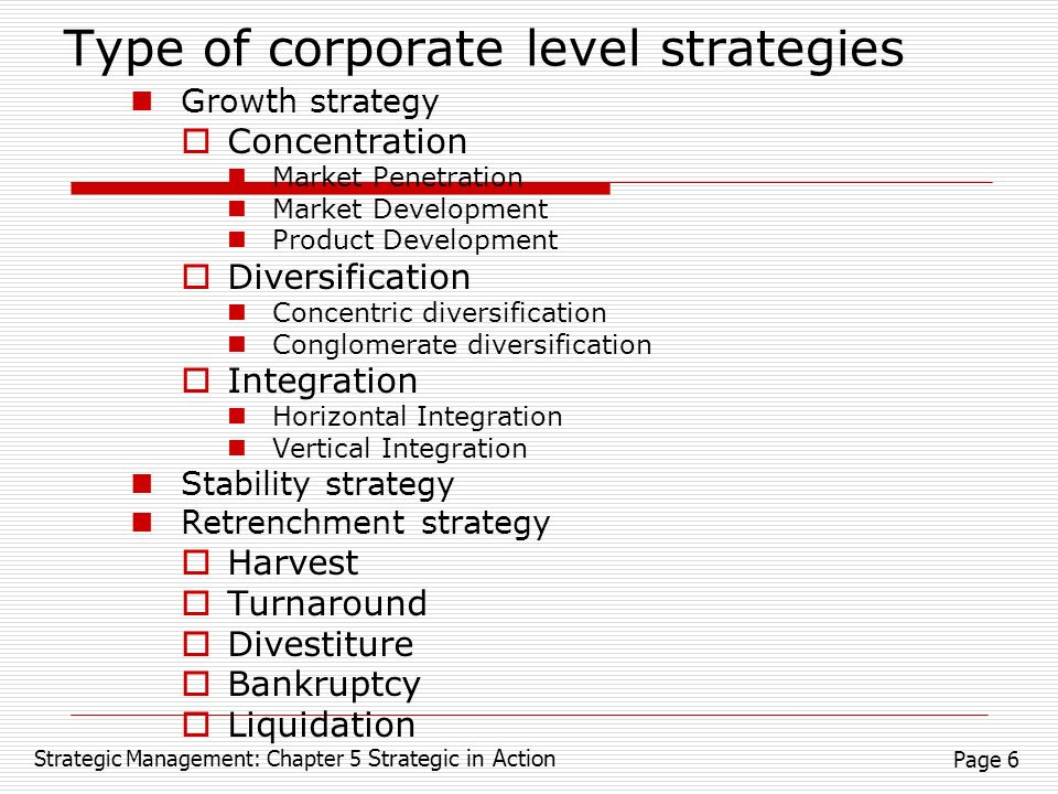 business level strategies and corporate strategies A corporate level strategy involves all the strategic decisions that are made by a company that affects the whole organization or company most organizations will only use this one strategic plan in all their operations in a company where separate parts operate as viable entities, strategic .