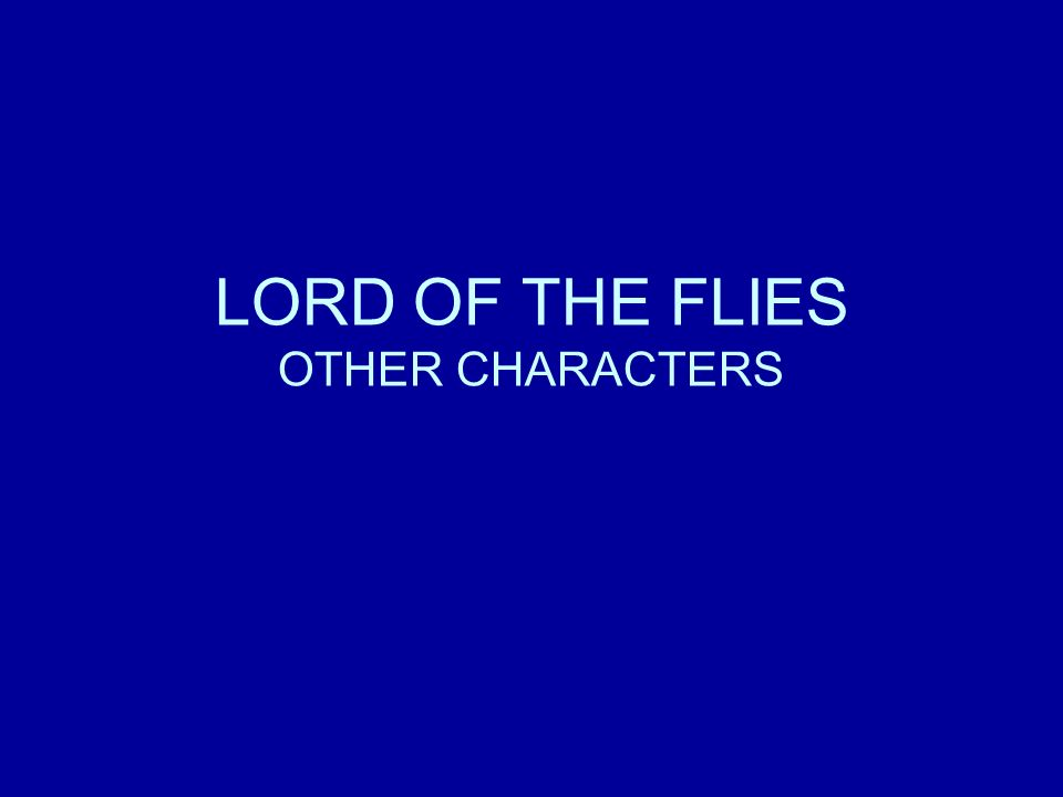 similarities of characters in lord of Both authors use these characters as sort  what are some similarities between romeo and juliet and lord of the flies similarities between lord of the.