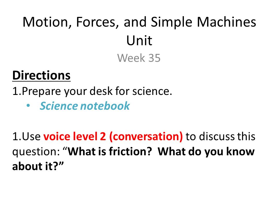Motion Forces And Simple Machines Unit Ppt Video Online Download. Motion Forces And Simple Machines Unit. Worksheet. Worksheet Packet Simple Machines Key At Clickcart.co