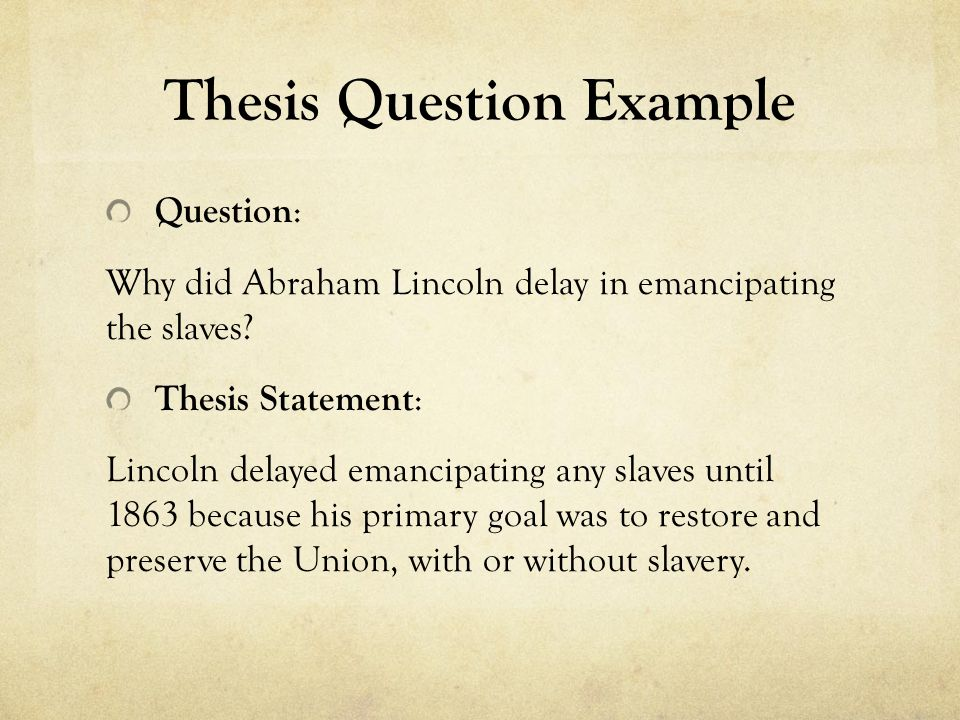 "thesis statement of slavery narrative A narrative's thesis statement is not exactly like the thesis statements used in argumentative or ""structure of a personal narrative essay."