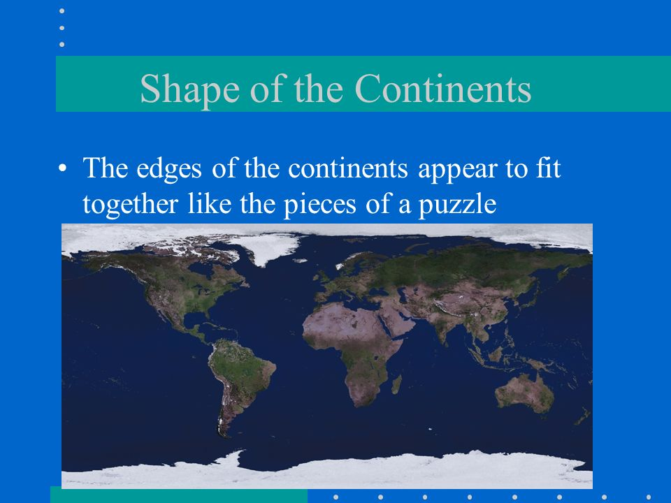 Evidence For Plate Tectonics Ppt Download