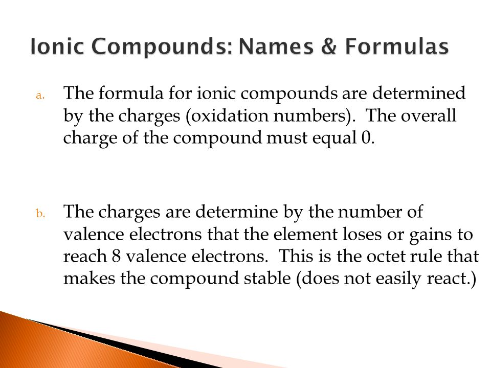 Covalent Compounds (molecules) - ppt download
