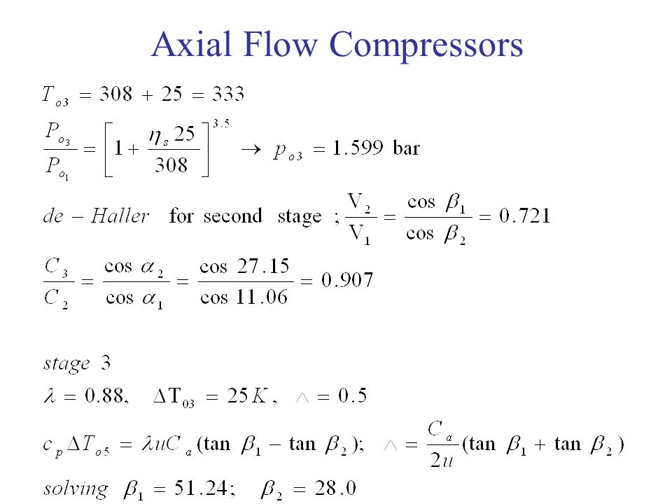 Axial Flow Compressors : Axial flow compressors ppt download