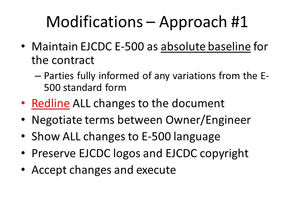 Introduction to EJCDC Documents - ppt download