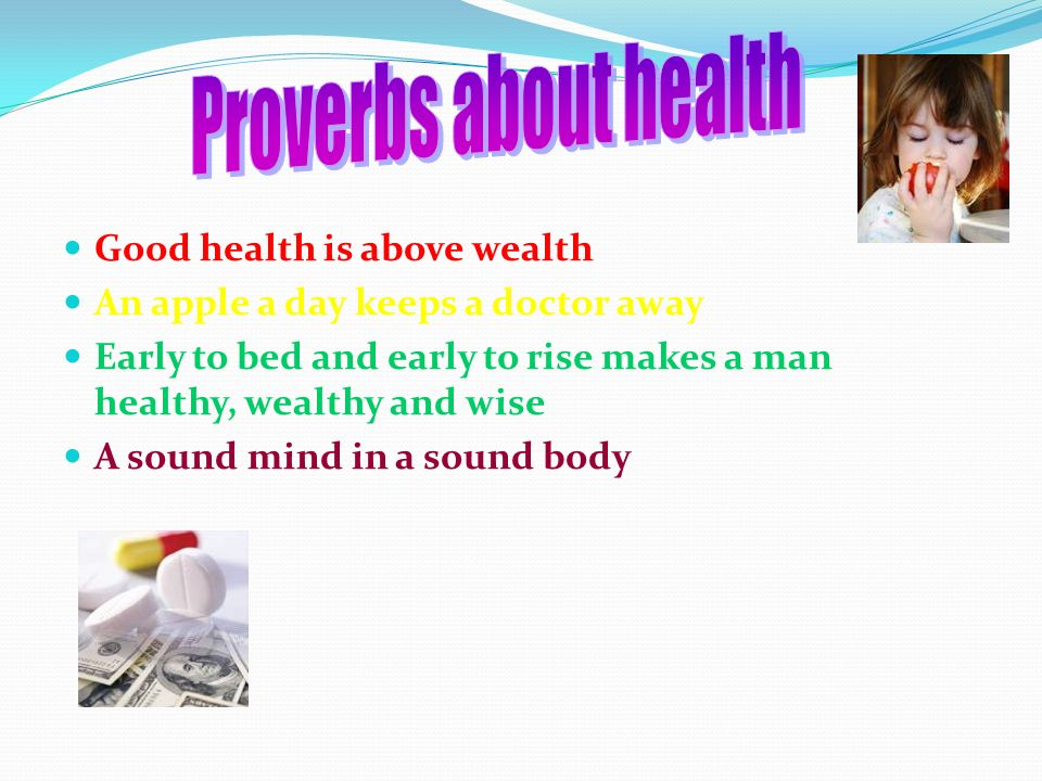 good health is above wealth essay Health is wealth in order to understand the phrase health is wealth we must put   all of the above and would like to add that by beeing in good health you also.