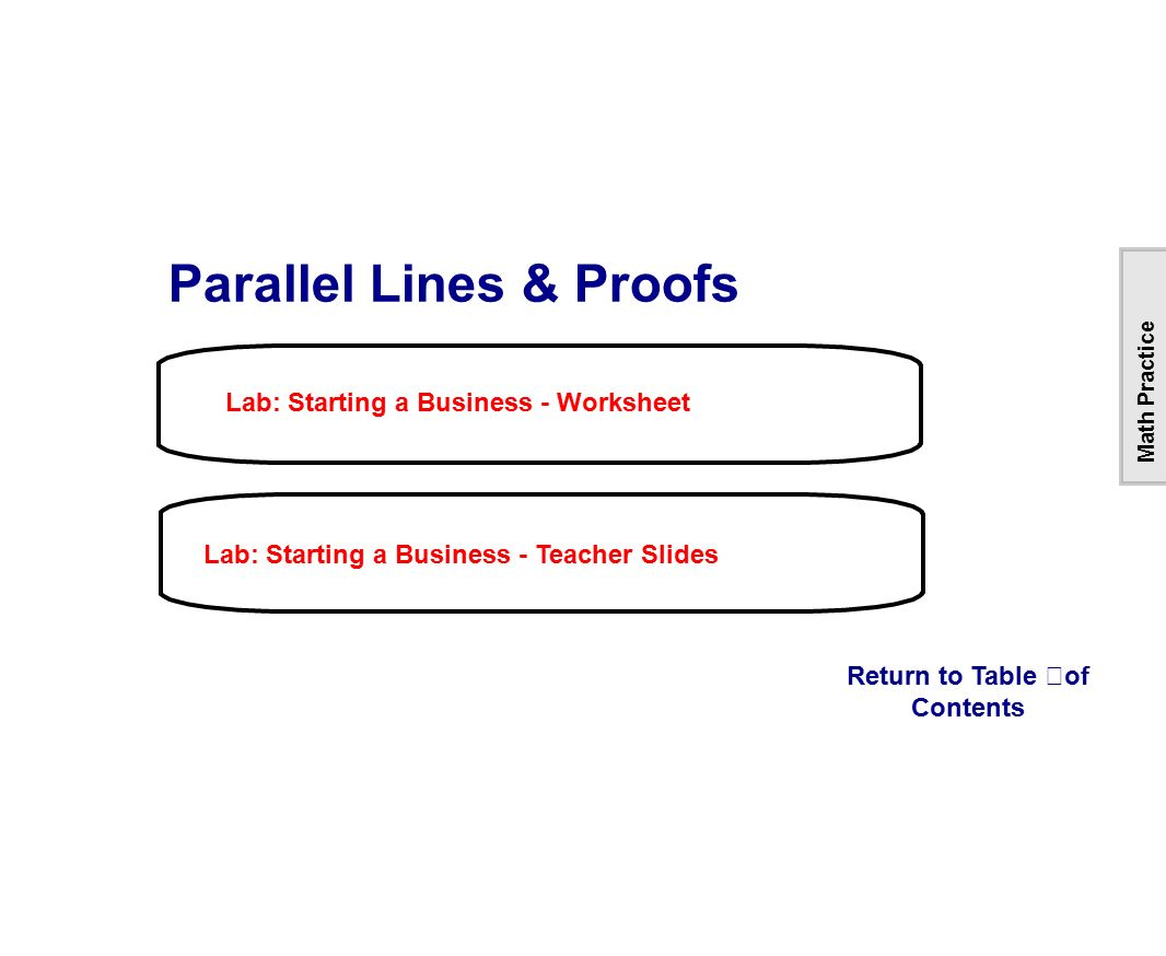 Uncategorized Table Of Contents Worksheet table of contents lines intersecting parallel skew ppt download 50 this
