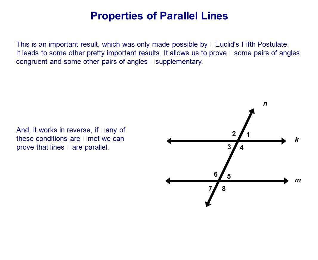 Table of Contents Lines Intersecting Parallel Skew ppt download – Properties of Parallel Lines Worksheet