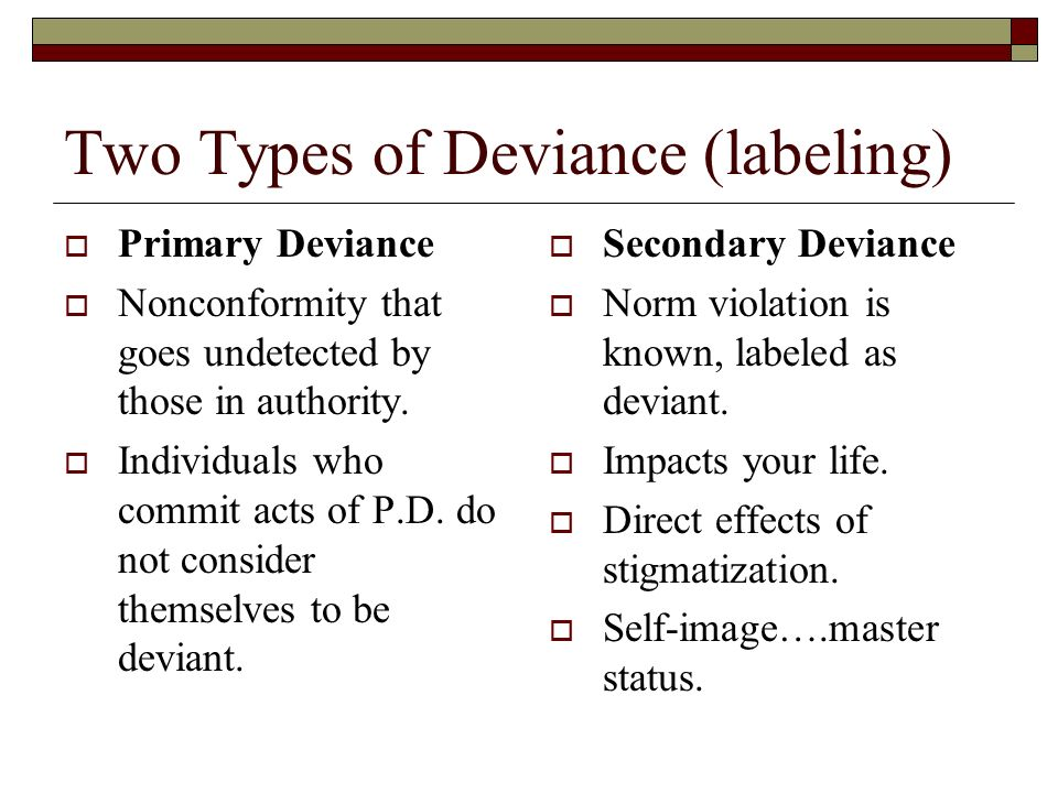 Deviance Theories Sociology Ppt Download